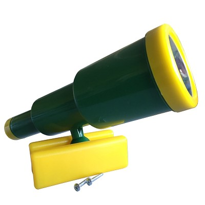 Telescope telescope large green / yellow
