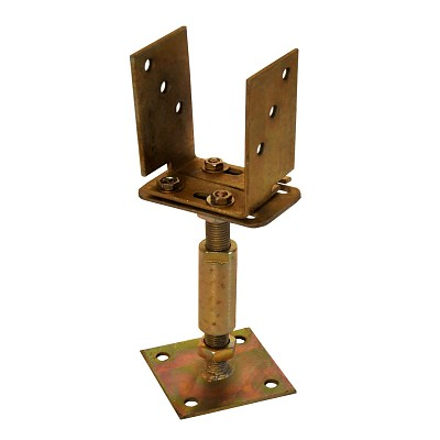 Adjustable Support Post  With Plate