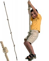 Climbing Rope With Three Knots - Ø 18 mm, 1.90 m long