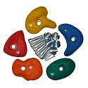 Climbing Stones Small, Assorted Colors, Set of 5
