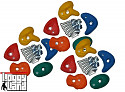 Climbing stone set 15 pieces size S