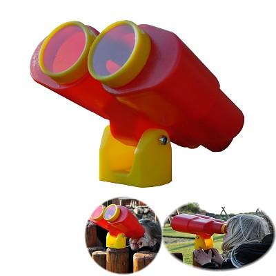 Binoculars telescope toys for tree house, play tower, playhouse, climbing tower