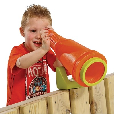 Telescopic telescope Star for play tower