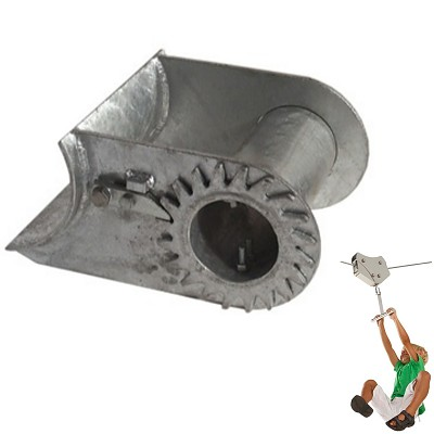 Rope tensioner for logs