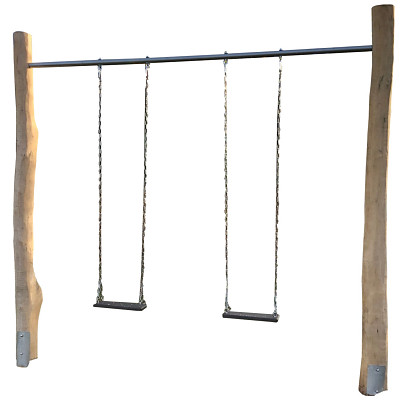 Rocking rod made of Ø 50 mm steel tube for double swing