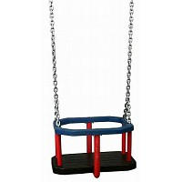 Rubber Baby Seat with Steel Chain Set