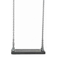 Rubber Swing Seat grey 2.5m Chain