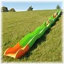Hill slide 8.60 m