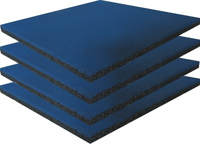 Playground Safety Mat Blue - Set of 4 -