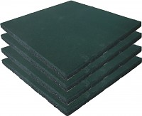 Playground Safety Mat Green - Set of 4 -