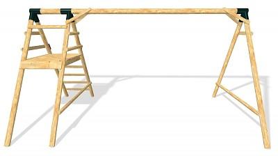 Wooden Swing Set MAXIMUM