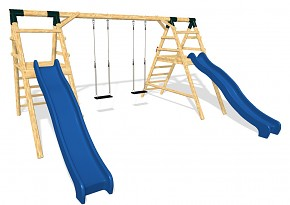 DOUBLE playground set