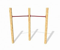 GYM II Playground Set - 2 Horizontal Bars