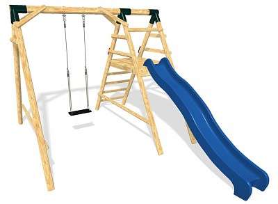 Playground Set - Swing and Slide