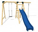 Playground Set ULTIMATE - Slide, Climbing Rope and Swing