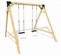 Playground Set VOYAGE - Double Swing